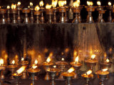 Keren Su - Prayer Flames, Jokhong Temple, Lhasa, Tibet - Fotografik Baskı