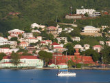 The Harbor at Charlotte Amalie, St. Thomas, Caribbean Photographic Print by Jerry & Marcy Monkman