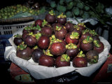 Mangosteen Fruit, Cambodia Photographic Print by Russell Young