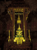 Emerald Buddha at the Grand Palace, Bangkok, Thailand Photographic Print by Claudia Adams