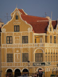 Penha and Sons Building, Willemstad, Curacao, Caribbean Fotografie-Druck von Robin Hill