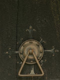 Door Lock of Hopperstad Stave Church, Sogne Fjord, Vic, Norway Photographic Print by Russell Young