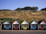 Beach Huts at Bournemouth, Dorset, England Photographic Print by Nik Wheeler