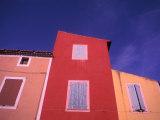 Roussillon, Luberon, Provence, France Photographic Print by Nik Wheeler