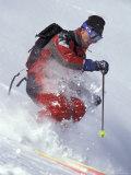 Skiing Photographic Print by Lee Kopfler