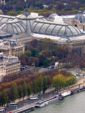 View of Grand Palais from Eiffel Tower, Paris, France Photographic Print by Lisa S. Engelbrecht