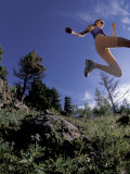 Running, Boulder, Colorado, USA Photographic Print by Lee Kopfler