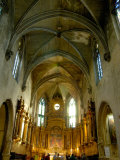 Gothic Interior of St. Pierre Church, Avignon, Provence, France Photographic Print by Lisa S. Engelbrecht