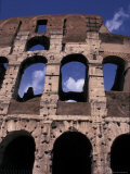 The Colosseum, Ancient Sports Stadium, Rome, Italy Photographic Print by Connie Ricca