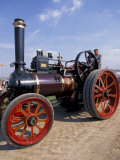 Great Dorset Steam Fair, Vintage Steam Engine, Dorset, England Photographic Print by Nik Wheeler