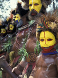 Coastal Tribe Natives, Oro, Papua New Guinea Photographic Print by Michele Westmorland