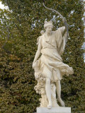 Marble Statue in Gardens, Versailles, France Photographic Print by Lisa S. Engelbrecht