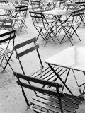 Chairs in Jardin du Luxembourg, Paris, France Photographic Print by Walter Bibikow