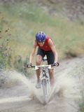 Mountain Biking, Boulder, Colorado, USA Photographic Print by Lee Kopfler