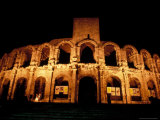 Amphitheatre, Arles, Provence, France Photographic Print by Nik Wheeler