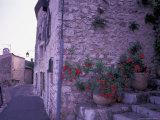 St-Paul-De-Vance, Nice, Cote D'Azur, France Fotoprint van Nik Wheeler