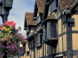 Shakespeare's Birthplace, Stratford-on-Avon, England Photographic Print by Nik Wheeler