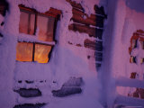 Frozen Window, Lapland, Finland Photographic Print by Daisy Gilardini