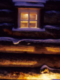 Finnish's Window, Lapland, Finland Photographic Print by Daisy Gilardini