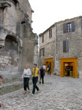 Tourists Shopping in Les Baux de Provence, France Photographic Print by Lisa S. Engelbrecht