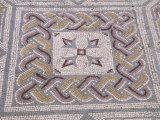 Mosaic Tile Floor in Roman Ruins, Conimbriga, Portugal Photographic Print by John & Lisa Merrill