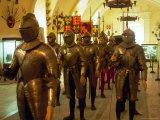 Knights at Grand Master's Palace, Valletta, Malta Fotografie-Druck von Robin Hill