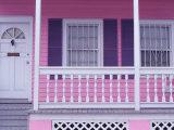 Tobaco Houses, Key West, Florida Keys, Florida, USA Fotoprint van Terry Eggers