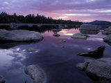 Sunset in the Northern Forest, Maine, USA Photographic Print by Jerry & Marcy Monkman