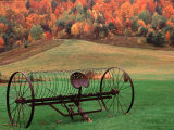 Farm Scene, Vermont, USA Photographic Print by Charles Sleicher
