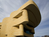 Exterior of National Museum of the American Indian, Washington DC, USA Photographic Print by Scott T. Smith