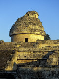 Caracol Astronomical Observatory, Chichen Itza Ruins, Maya Civilization, Yucatan, Mexico Photographic Print by Michele Molinari