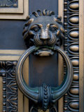 Lion-Headed Handle on Door of Baltimore City Courthouse, Baltimore, Maryland, USA Photographic Print by Scott T. Smith