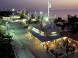 Night Scenic, San Miguel, Cozumel Island, Quintana Roo, Mexico Fotografie-Druck von Robin Hill