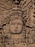 Hotel Mayan Palace, Mayan Sculpture, Puerto Vallarta, Mexico Photographic Print by Walter Bibikow