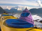 Sea Kayak Trip From Valdez Harbor to Columbia Glacier, Alaska, USA Photographic Print by Julie Eggers