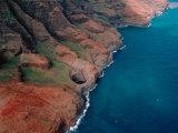 Napali Coast, Kauai, Hawaii, USA Photographic Print by Dee Ann Pederson