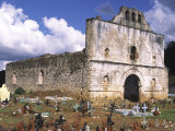 San Sebastian Church Ruins and Graveyard, San Juan Chamula, Chiapas, MExico Photographic Print by Charles Crust