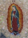 Religious Painting, Baja Region, Mexico Photographic Print by Gavriel Jecan