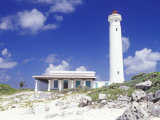 Punta Sur Celarain Lighthouse, Cozumel, Mexico Photographic Print by Greg Johnston
