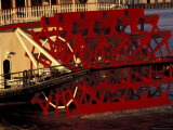 Paddlewheeler Details on Mississippi River, New Orleans, Louisiana, USA Photographic Print by Adam Jones