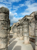 Square of the 1,000 Columns, Chichen Itza, Mexico Photographic Print by Lisa S. Engelbrecht