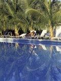 Governor Hotel Pool, Miami Beach, Florida, USA Fotografie-Druck von Robin Hill