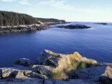 Ebens Head, Penobscot Bay, Isle Au Haut, Maine, USA Photographic Print by Jerry & Marcy Monkman