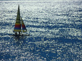 Sailing Couple, Florida, USA Photographic Print by Nik Wheeler