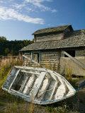 Old Boat, Ninilchik, Kenai Peninsula, Alaska, USA Photographic Print by Walter Bibikow