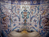 Tile Fountain Detail in Opulent Dining Room, Vorontsov Palace, Alupka, Yalta, Ukraine Photographic Print by Cindy Miller Hopkins