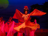 Fairy Dance, Concert of Traditional Music, Shaanxi Grand Opera House, Xi'an, China Photographic Print by Pete Oxford