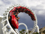 Rollercoaster, Sea World, Gold Coast, Queensland, Australia Photographie par David Wall