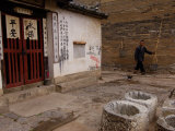 Ancient Four-Eyed Well, Jianshui, Yunnan Province, China Photographic Print by Pete Oxford