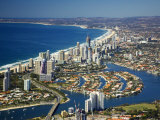 Nerang River, Surfers Paradise, Gold Coast, Queensland, Australia Photographic Print by David Wall